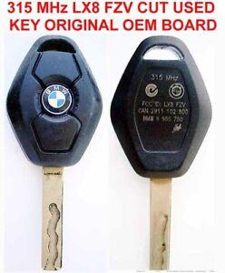 BMW LOGO CUT SOLID KEY BLADE DIAMOND REMOTE KEYLESS LX8FZV LX8 FZV