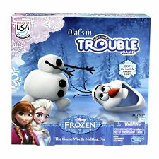 OLAF'S  IN TROUBLE ** DISNEY'S FROZEN **  by Hasbro Games MADE IN THE USA