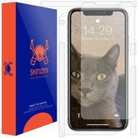 "Skinomi FULL BODY (MATTE) Skin+Screen Protector For Apple iPhone XS Max (6.5"")"