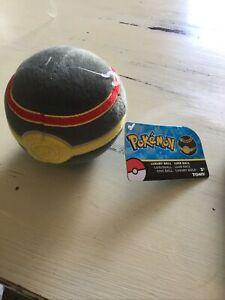 "Pokémon 5"" LUXURY POKÉ BALL Plush TOMY Official Licensed"