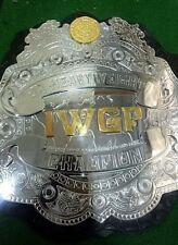 IWGP Jr Heavyweight Championship premium Belt Replica Real Thick Metal plate