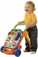 New listing Vtech 5 Piano Keys Sit-to-Stand Learning Walker - Orange