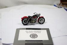 Franklin Mint Harley-Davidson Sportster von 1957 1:24 siehe Fotos