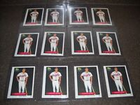 Lot of (12) 1991 Classic Best #268 Chipper Jones Rookie RC Cards HOF NM-MT