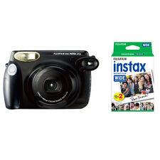 Fujifilm Fuji Instax 210 Wide Instant Film Camera, Black + 20 Prints Instax Film
