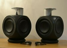 Bang & Olufsen B&O Beolab 3 Black Full Active Loud Speakers Deep Bass BL3#1