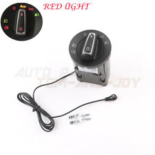 Auto Headlight Switch- New GLOSSY Chrome Style W/ Sensor For VW Golf /Jetta MK4