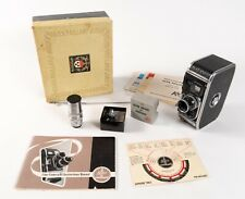 Paillard Bolex B8 8mm Movie Camera w/ 2 lenses, box, book