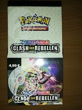 """Pokemon SCHWERT & SCHILD """"CLASH DER REBELLEN"""" NEU/OVP 1 Display"""