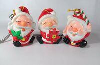 Vintage Hippity Hoppities Santas Bouncy Spring Action People's Drug Japan