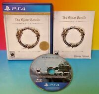 The Elder Scrolls Online: Tamriel Unlimited PS4 Sony Playstation 4 GAME Complete
