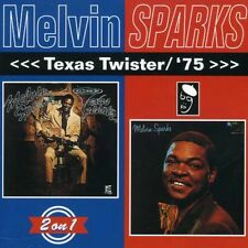 Texas Twister/'75 - Melvin Sparks (2006, CD NUOVO)