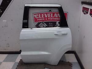 2011-2020 Jeep Grand Cherokee SRT OEM Left Driver Side Rear Door Assembly White