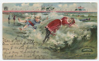 1903 Heinz Pickle Advertising Postcard Atlantic City NJ [y1173]
