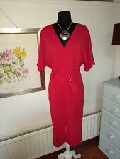 Beautiful Monsoon Red Dress - UK 18 -