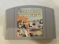 Star Wars Episode 1 Pod Racer Authentic N64 Nintendo 64 Tested/Working FREE S/H