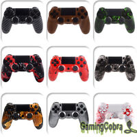 Mods Patterned Hydro Dipped Housing Buttons for PS4 Controller Shell