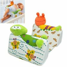 SOZZY baby infant Airflow Sleep Positioner anti roll color animal pillow NEW