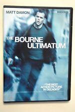 The Bourne Ultimatum (DVD, 2007,  Matt Damon