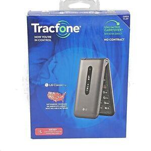 TRACFONE - TracFone LG Classic Flip 8GB Prepaid - Gray  BRAND NEW SEALED