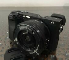 Sony Alpha A6300 24.2MP Mirrorless Digital Camera Include kit lens(Black)