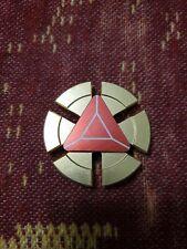 MARVEL Red Iron Man Arc Reactor Round EDC Fidget Spinner Toy USA FAST SHIP