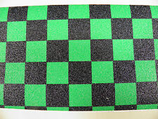SCOOTER GRIP TAPE GREEN CHECK- FIT MADD GEAR & RAZOR