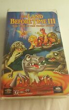 THE LAND BEFORE TIME III (3) Time Of Great Giving Clamshell VHS
