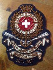 RALPH LAUREN COPPER WIRED MILITARY ARMY STYLE BADGE NEW BLAZER BADGE LAUREN