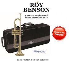 Roy Benson Rb701050 Tromba in sib Tr-101 finitura laccata Astuccio (u0m)