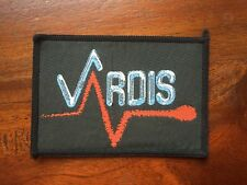 VARDIS 10x7cm Woven Sew on Rock/Metal Jacket Patch Classic NWOBHM FREE Shipping