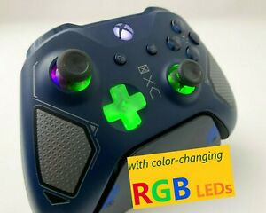 Limited Edition Patrol Tech Xbox One Controller w LED MOD Halo COD APEX