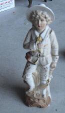 "Antique German Bisque G 8070 Girl Figurine 8 3/4"" Tall"