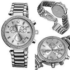 Akribos XXIV Women's AK529SS Swiss Quartz Crystal Chronograph Watch