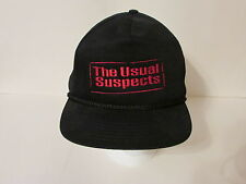 RARE-NEVER WORN The Usual Suspects Movie Embroidered Baseball Hat - Adjust. OSFA