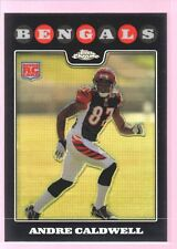 ANDRE CALDWELL 2008 TOPPS CHROME ROOKIE REFRACTOR MINT RC FLORIDA BRONCOS $12