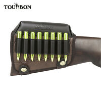 Tourbon Gun Stock Cheek Piece w/ Rifle/Shotgun Ammo Holder Shooting Hunting Gift