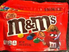 Peanut Butter M&M's USA Candy 272g 9.6oz Resealable American Import Mnms M&Ms