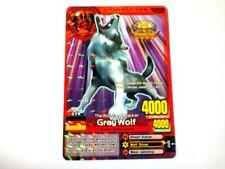 Animal Kaiser English Version Promo Card (A00010P: Gray Wolf)