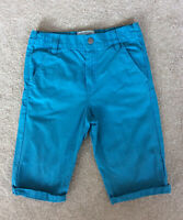 Debenhams Mantaray Boys Blue Cargo Cotton Shorts Age 9 Ex Con