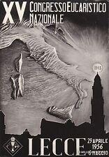 # LECCE: XV CONGRESSO EUCARISTICO NAZ.  1956