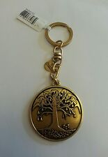 Alex And Ani Tree Of Life Key Chain Retired Collector's Item New Tags In Box