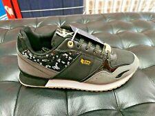 Scarpe donna Gas sneaker sportive glitter nero passeggio shoes calzature ragazza