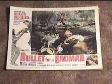 BULLET FOR A BADMAN 1964 LOBBY CARD #4 WESTERN AUDIE MURPHY