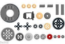 x26 Lego Gears SAMPLE Kit (ev3,bevel,motor,spur,cogwheel,turntable,differential)