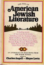The Rise of American Jewish Literature, edited by Charles Angoff & Meyer Levin