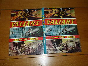 VALIANT - Year 1968 - UK Annual ( Price Tab 9/6d intact )