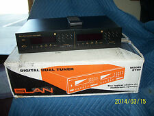 Elan DTNR Digital Dual Tuner with rack ears and Box