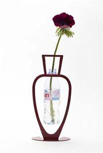 Decorative FLOWERS VASE - Use with Drinking Plastic Bottles, Eco Friendly Design