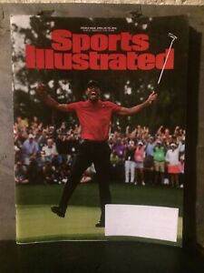 Sports Illustrated Tiger Woods  Masters Apr 22-29, 2019 Magazine DOUBLE ISSUE